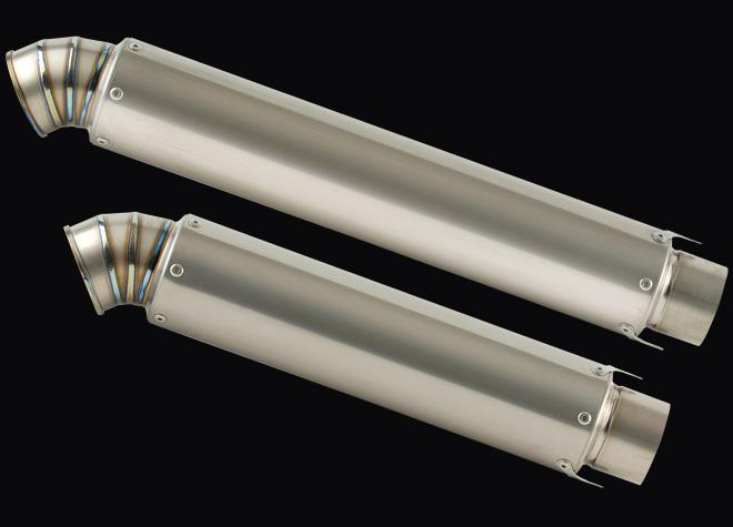 ストレイトチタンサイレンサー V-3 320mm/420mm