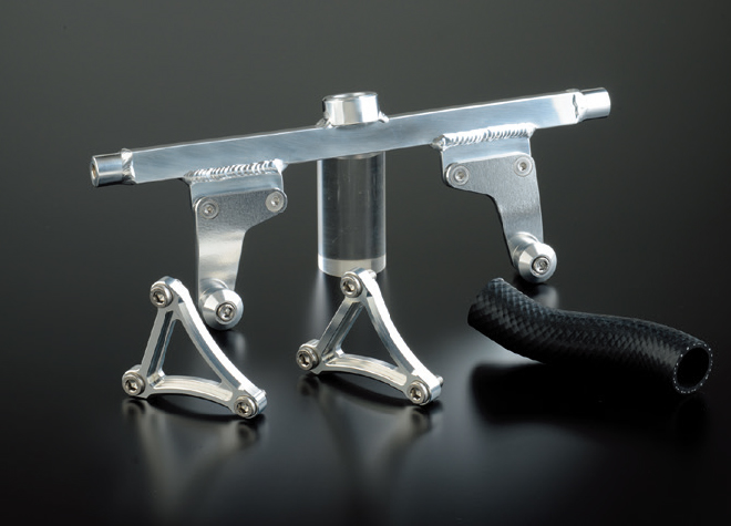 ダウンチューブ  III 専用  ラジエータ&オイルクーラーステー KIT(GPZ900R/750R  Ninja)